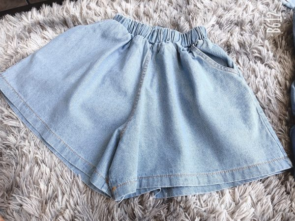 Jeans Hoodie Bottom
