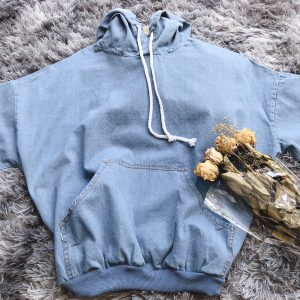 Jeans Hoodie 2 Pcs Outfit